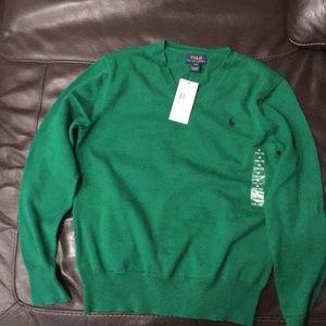 Ralph Lauren polo sweater size M 10/12